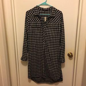 NWT Madewell shirt dress.